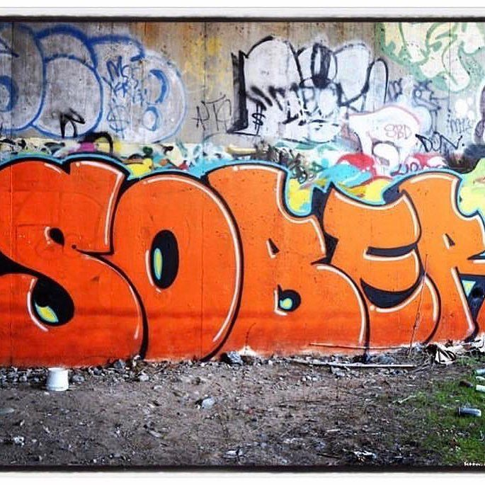 wall art-grafitti-sober